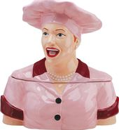 I Love Lucy - Chocolate Factory Bust Cookie Jar