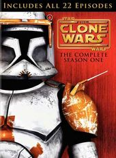 Star Wars: The Clone Wars - Season 1 (4-DVD)