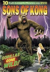 Sons of Kong: 10 Full-Length Movies on 3-DVDs (3D