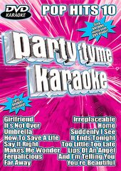 Party Tyme Karaoke - DVD Pop Hits 10