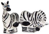 Safari Zebras - Salt & Pepper Shakers