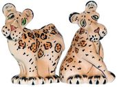 Safari Leopards - Salt & Pepper Shakers