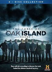 Curse of Oak Island - Season 1 (2-DVD)