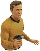Star Trek - Captain Kirk Bust Bank