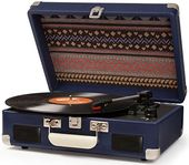 Cruiser II Battery Powered Turntable - Blue