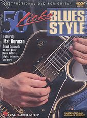Mat Gurman - 50 Guitar Licks, Blues Style