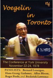 Voegelin in Toronto Conference at York University