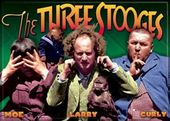 "The Three Stooges - Magnet 2 1/2"" x 3 1/2"""