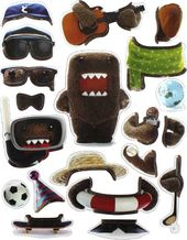 Domo - Dress Up - Magnet Set