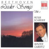 Beethoven: Songs, Volume 1