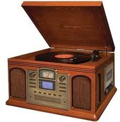 Crosley CR2405C-PA Director CD Recorder (Paprika)