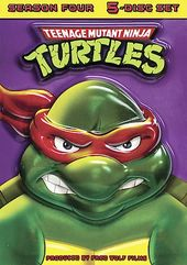 Teenage Mutant Ninja Turtles - Season 4 (5-DVD)