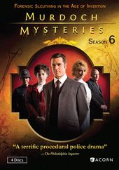 Murdoch Mysteries - Season 6 (4-DVD)