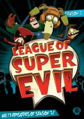 League of Super Evil - Season 2 (2-DVD)