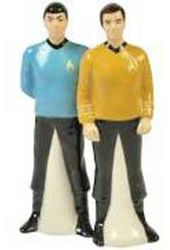 Star Trek - Spock & Kirk Salt & Pepper Shakers