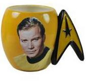 Star Trek - Captain Kirk 16 oz. Ceramic Mug