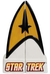 Star Trek - Command Insignia Salt & Pepper Shakers
