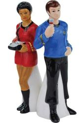 Star Trek - Uhura & McCoy - Salt & Pepper Shakers