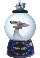 Star Trek - Enterprise - Sparkler Water Globe
