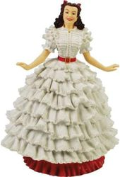 Gone With The Wind - White Dress Scarlett -