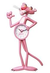Pink Panther - Animated Clock