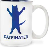 Catfinated 16 oz. Coffee Mug