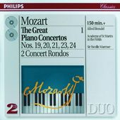 Mozart: Great Piano Concertos Volume 1, Nos. 19