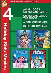 4 Holiday Kids Movies (An All Dogs Christmas
