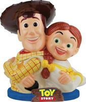Disney - Toy Story - Woody & Jessie Cookie Jar