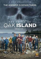 The Curse of Oak Island - Season 2 (2-DVD)