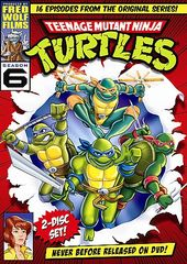 Teenage Mutant Ninja Turtles - Season 6 (2-DVD)