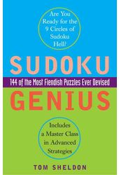 Sudoku: Sudoku Genius: 144 of the Most Fiendish