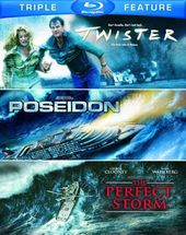 Twister / Poseidon / The Perfect Storm (Blu-ray)