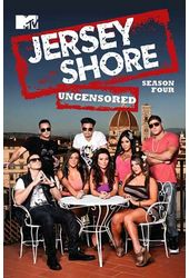 Jersey Shore - Season 4 (4-DVD)