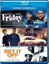Friday / Menace II Society / Set It Off (Blu-ray)