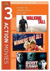 MGM 3 Action Movies (Walking Tall / Winners Take