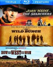 The Searchers / The Wild Bunch / How the West Was
