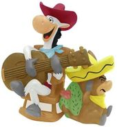 Hanna Barbera - Quick Draw Mcgraw & Baba Looey -