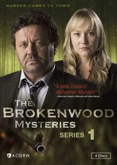 The Brokenwood Mysteries - Series 1 (4-DVD)