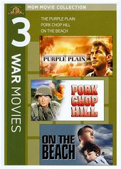 3 War Movies (Purple Plain / Pork Chop Hill / On