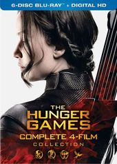 The Hunger Games Complete Collection (Blu-ray)