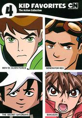 4 Kid Favorites: The Action Collection (Ben 10: