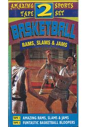 Basketball Rams, Slams & Jams (2-VHS)