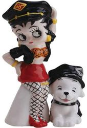 Betty Boop - Leather Betty & Pudgy - Salt &