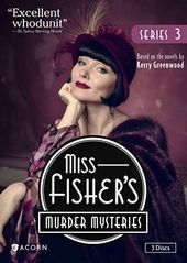 Miss Fisher's Murder Mysteries - Series 3 (3-DVD)