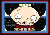Family Guy - Stewie - Alone - Poster