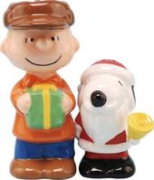 Peanuts - Santa Snoopy & Charlie Brown - Salt &