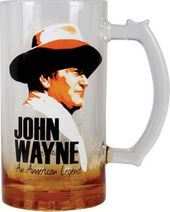 John Wayne - American Legend - 16oz Glass Mug
