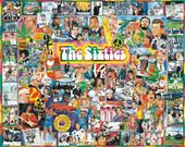 The Sixties - 1000 Piece Puzzle