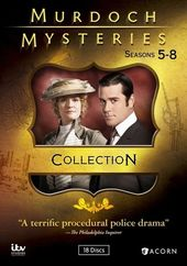 Murdoch Mysteries - Seasons 5-8 (18-DVD)